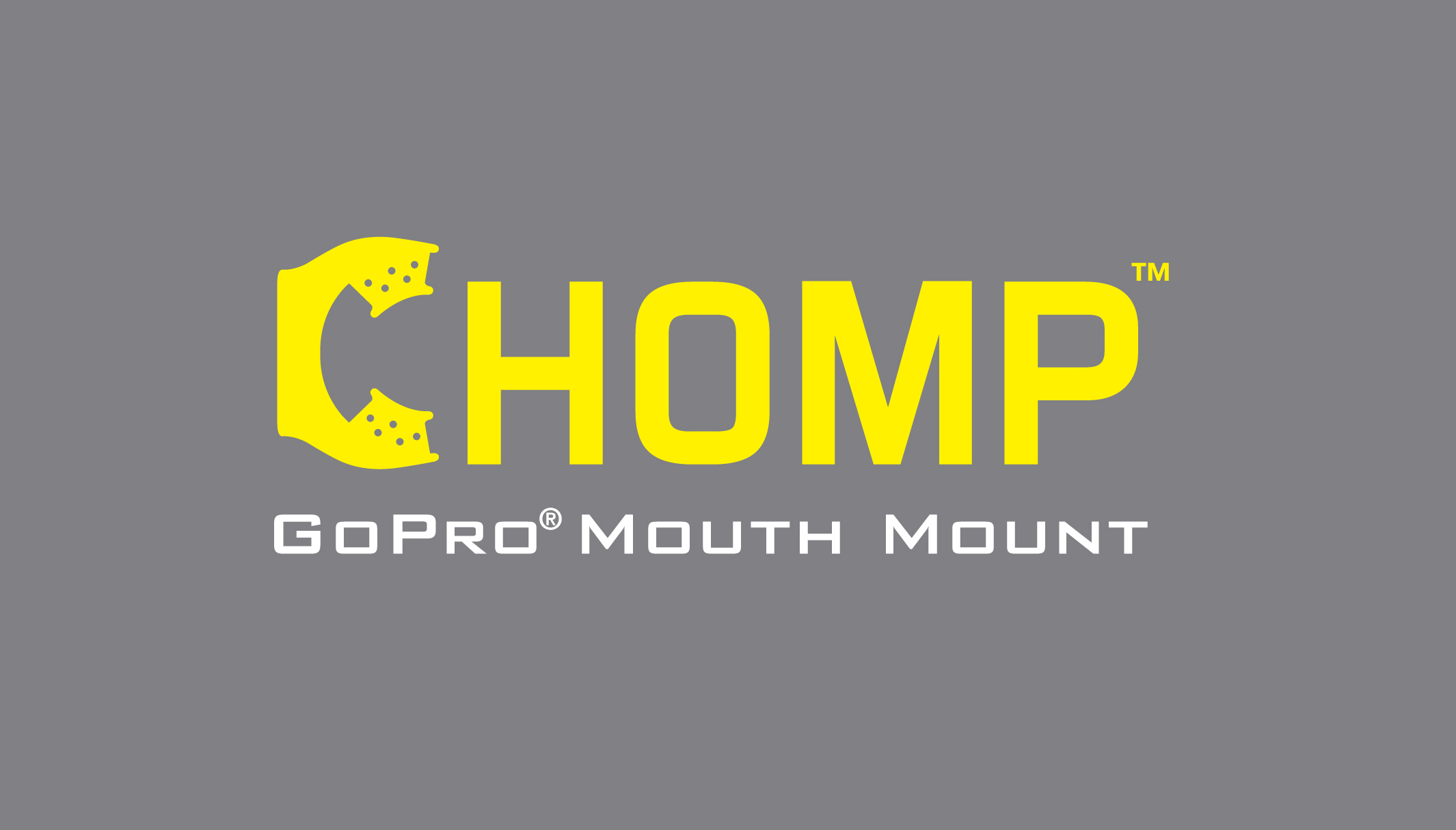 Chomp gopro mouth grip